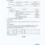 Certifikat - protipožarne odpornosti - EI 90.